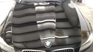 ceramic coating for car paint on BMW