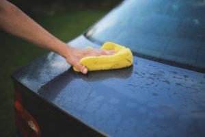 dry off car