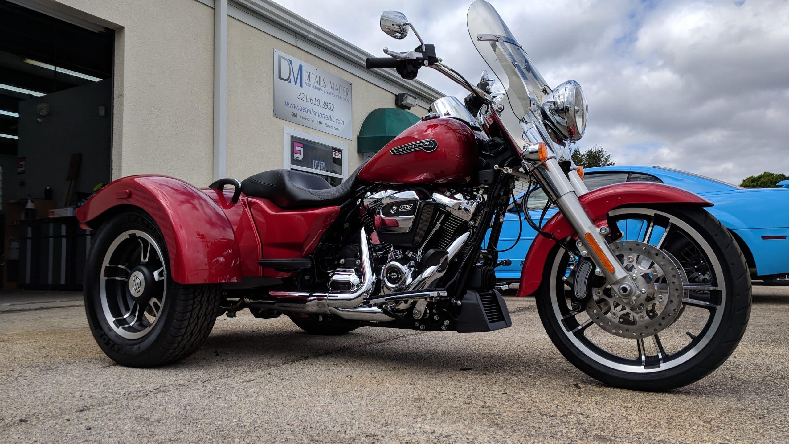 motorcycle detailing Melbourne FL